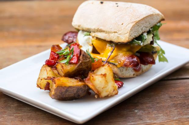 this breakfast sandwich looks MARVELOUS.