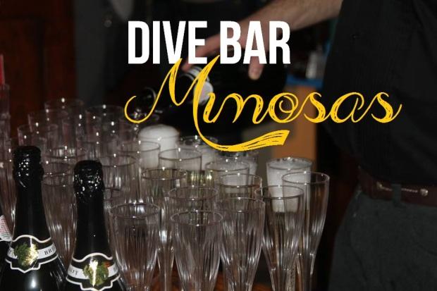 dive bar mimosas